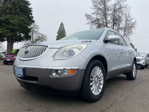 2009 Buick Enclave for sale at Pacific Auto LLC in Woodburn OR
