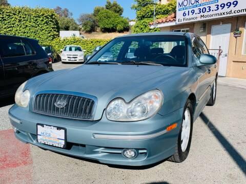 2005 Hyundai Sonata for sale at MotorMax in Lemon Grove CA