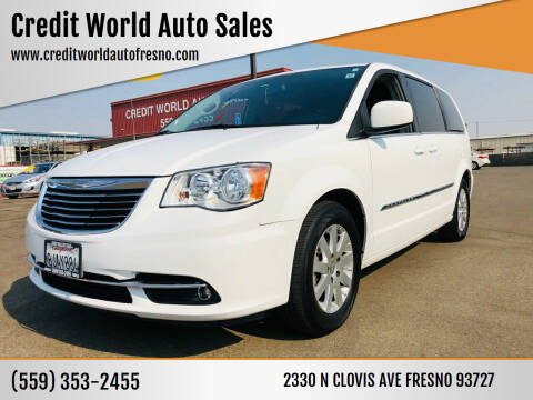 2016 Chrysler Town and Country for sale at Credit World Auto Sales in Fresno CA
