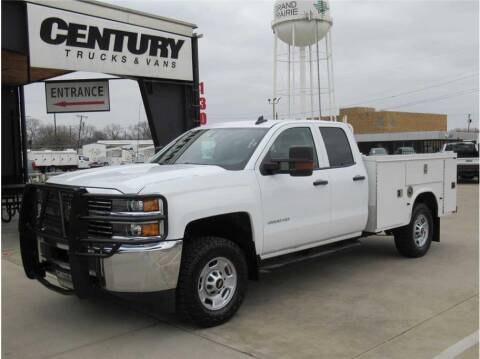 2017 Chevrolet Silverado 2500HD for sale at CENTURY TRUCKS & VANS in Grand Prairie TX