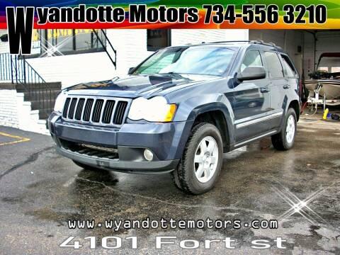 2010 Jeep Grand Cherokee for sale at Wyandotte Motors in Wyandotte MI