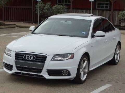 2012 Audi A4 for sale at Westside Hummer Inc. in Houston TX