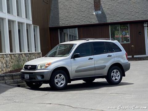 2004 Toyota RAV4 for sale at Cupples Car Company in Belmont NH