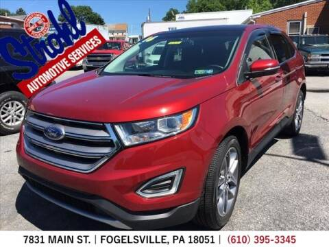 2016 Ford Edge for sale at Strohl Automotive Services in Fogelsville PA
