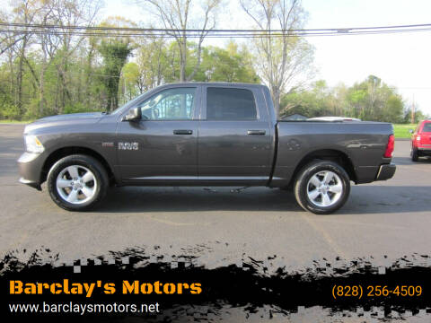 2016 RAM Ram Pickup 1500 for sale at Barclay's Motors in Conover NC