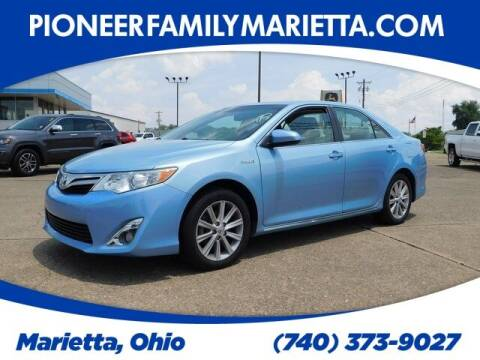 2013 Toyota Camry Hybrid for sale at Pioneer Family preowned autos in Williamstown WV