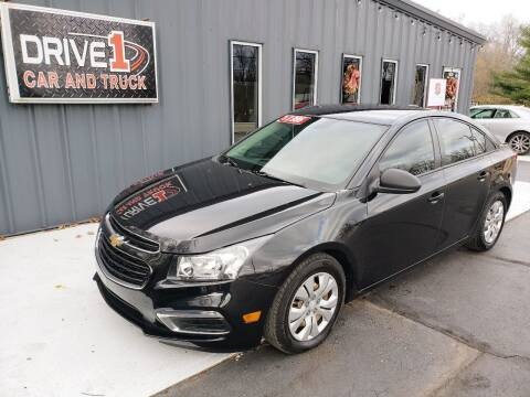 2015 Chevrolet Cruze for sale at Drive 1 Car & Truck in Springfield OH