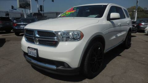 2012 Dodge Durango for sale at Luxor Motors Inc in Pacoima CA
