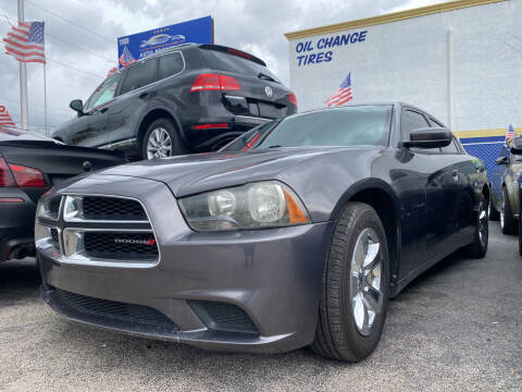 2014 Dodge Charger for sale at INTERNATIONAL AUTO BROKERS INC in Hollywood FL