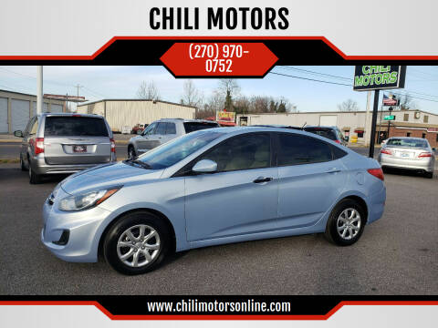 2013 Hyundai Accent for sale at CHILI MOTORS in Mayfield KY