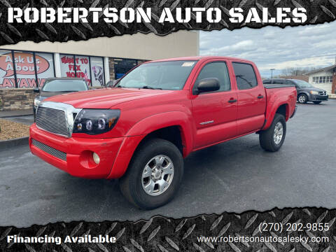 2006 Toyota Tacoma for sale at ROBERTSON AUTO SALES in Bowling Green KY