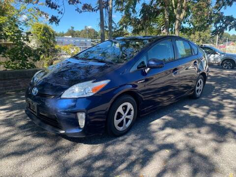 2012 Toyota Prius for sale at ANDONI AUTO SALES in Worcester MA