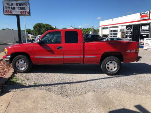 2001 GMC Sierra 1500 for sale at Imperial Auto of Marshall in Marshall MO