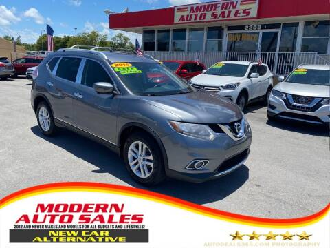 2016 Nissan Rogue for sale at Modern Auto Sales in Hollywood FL
