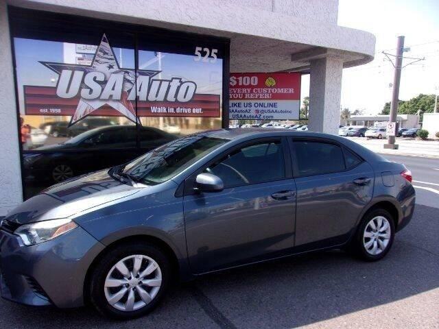 2016 Toyota Corolla for sale at USA Auto Inc in Mesa AZ