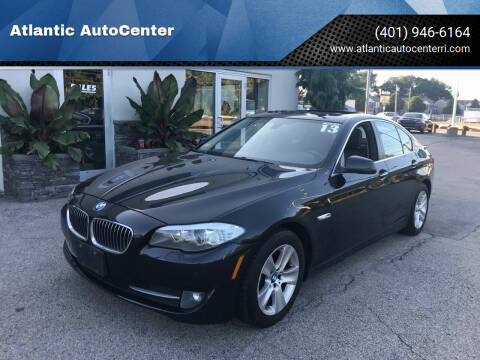 2013 BMW 5 Series for sale at Atlantic AutoCenter in Cranston RI
