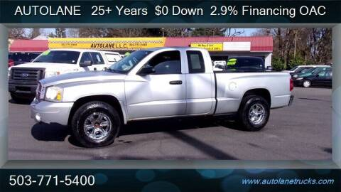 2006 Dodge Dakota for sale at Auto Lane in Portland OR