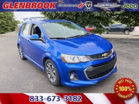 2017 Chevrolet Sonic for sale at Glenbrook Dodge Chrysler Jeep Ram and Fiat in Fort Wayne IN