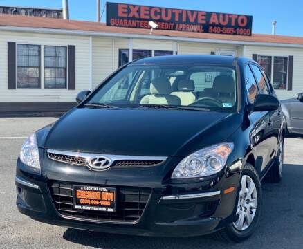 2011 Hyundai Elantra Touring for sale at Executive Auto in Winchester VA