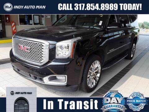 2017 GMC Yukon XL for sale at INDY AUTO MAN in Indianapolis IN