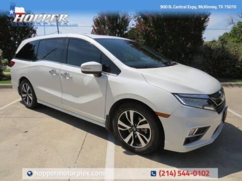 2019 Honda Odyssey for sale at HOPPER MOTORPLEX in Mckinney TX