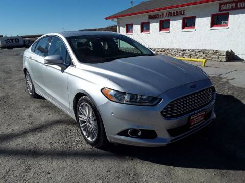 2014 Ford Fusion for sale at Sarpy County Motors in Springfield NE