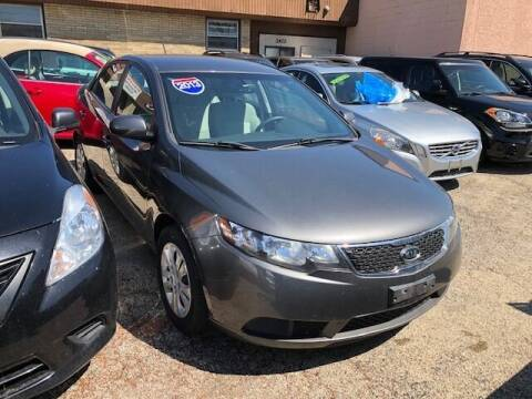 2013 Kia Forte for sale at NORTH CHICAGO MOTORS INC in North Chicago IL