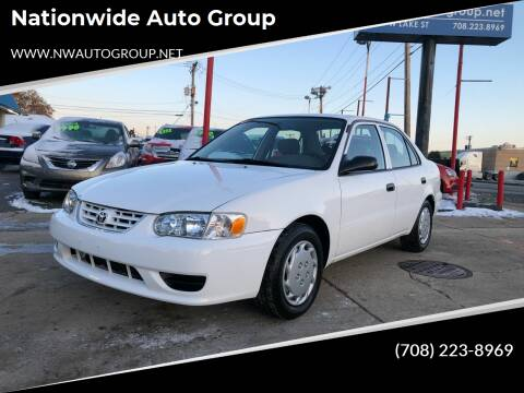2001 Toyota Corolla for sale at Nationwide Auto Group in Melrose Park IL