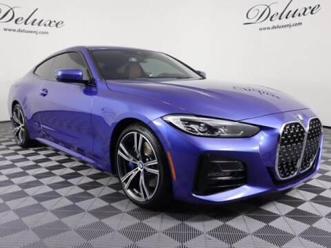 2021 BMW 4 Series for sale at DeluxeNJ.com in Linden NJ
