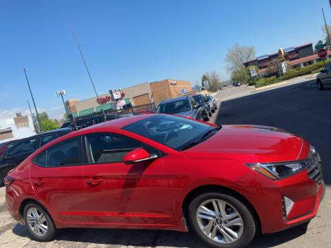 2020 Hyundai Elantra for sale at Sanaa Auto Sales LLC in Denver CO