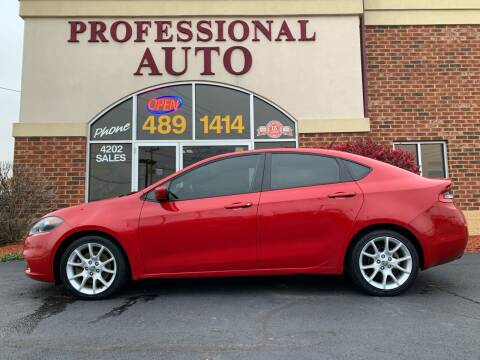 2013 Dodge Dart for sale at Professional Auto Sales & Service in Fort Wayne IN