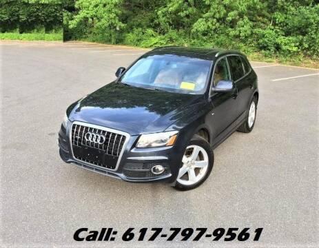 2012 Audi Q5 for sale at Wheeler Dealer Inc. in Acton MA