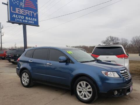2009 Subaru Tribeca for sale at Liberty Auto Sales in Merrill IA