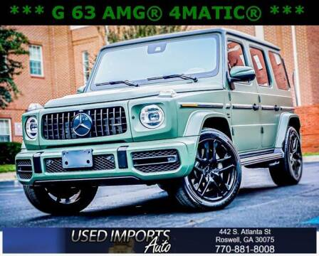 2019 Mercedes-Benz G-Class for sale at Used Imports Auto in Roswell GA