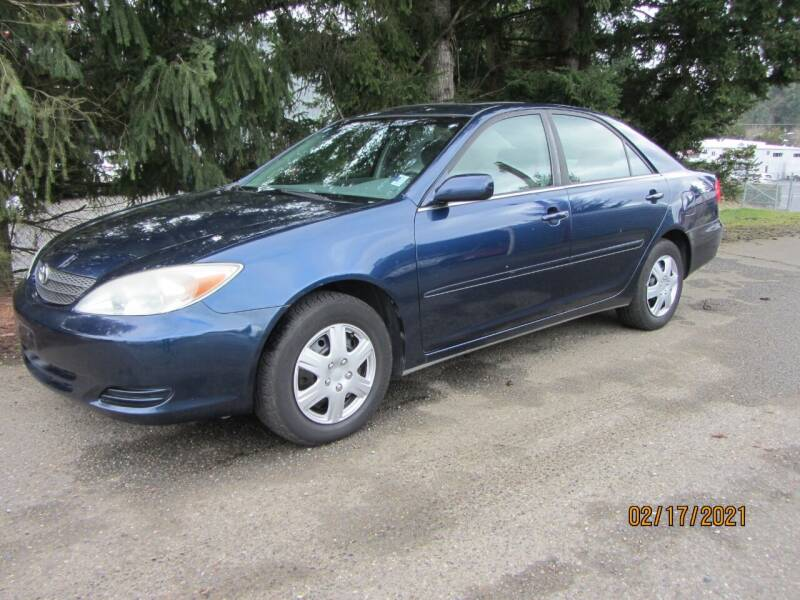 2002 Toyota Camry for sale at B & C Northwest Auto Sales in Olympia WA