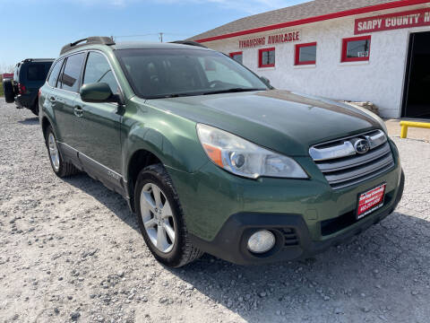 2013 Subaru Outback for sale at Sarpy County Motors in Springfield NE