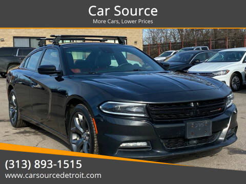 2015 Dodge Charger for sale at Car Source in Detroit MI