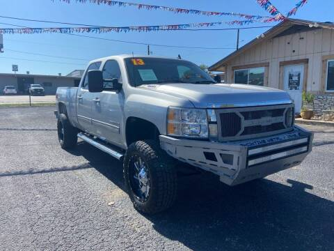 2013 Chevrolet Silverado 2500HD for sale at The Trading Post in San Marcos TX