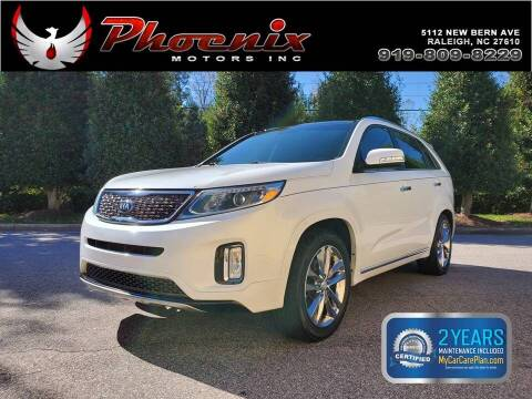 2015 Kia Sorento for sale at Phoenix Motors Inc in Raleigh NC