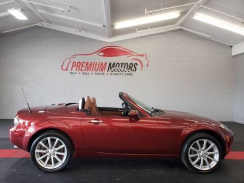 2008 Mazda MX-5 Miata for sale at Premium Motors in Villa Park IL