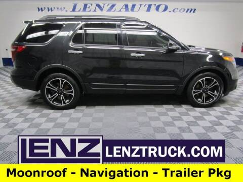 2014 Ford Explorer for sale at LENZ TRUCK CENTER in Fond Du Lac WI