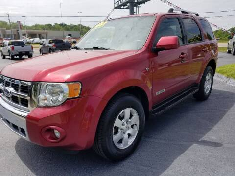 2008 Ford Escape for sale at Moores Auto Sales in Greeneville TN