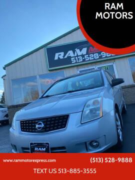 2008 Nissan Sentra for sale at RAM MOTORS in Cincinnati OH