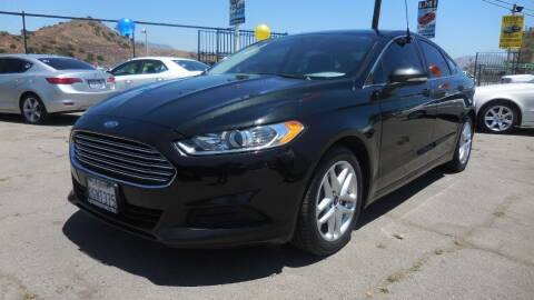 2015 Ford Fusion for sale at Luxor Motors Inc in Pacoima CA