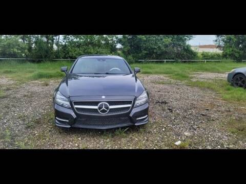 2014 Mercedes-Benz CLS for sale at FREDY USED CAR SALES in Houston TX