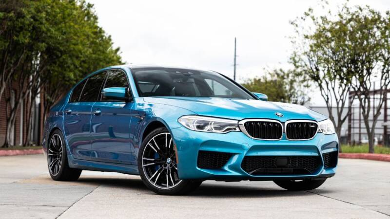 2018 BMW M5 for sale in Houston, TX