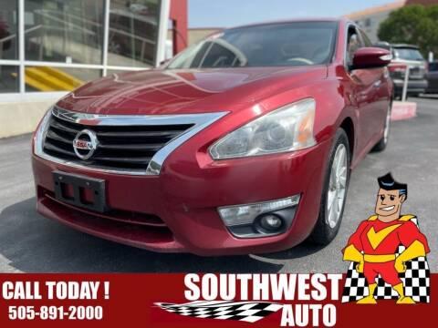 2014 Nissan Altima for sale at SOUTHWEST AUTO in Albuquerque NM