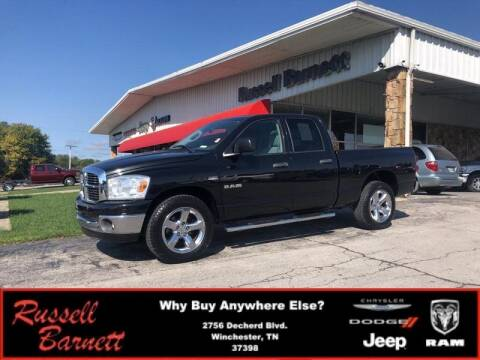 2008 Dodge Ram Pickup 1500 for sale at Russell Barnett Chrysler Dodge Jeep Ram in Winchester TN