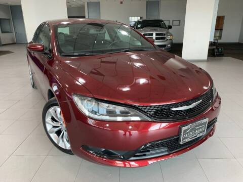 2015 Chrysler 200 for sale at Auto Mall of Springfield in Springfield IL