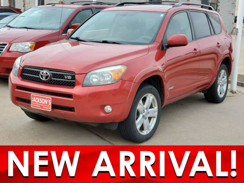 2007 Toyota RAV4 for sale at Jacksons Car Corner Inc in Hastings NE